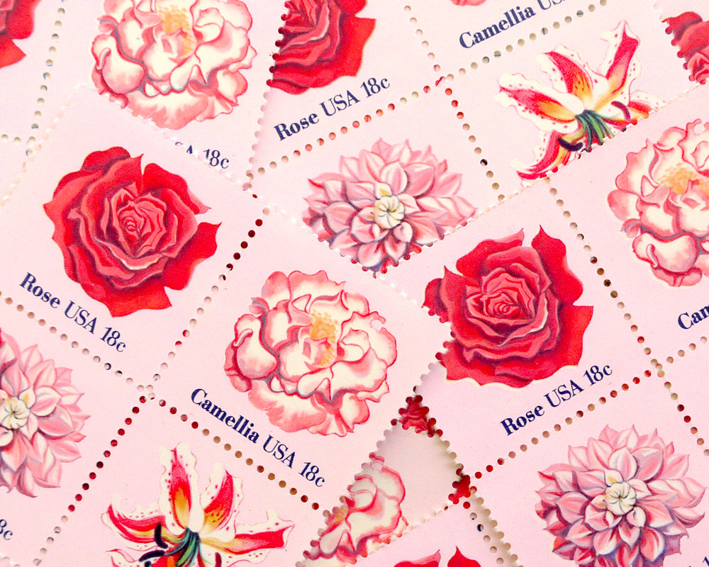 How to Find and Buy Vintage Stamps | Backstage | The Williford Wedding