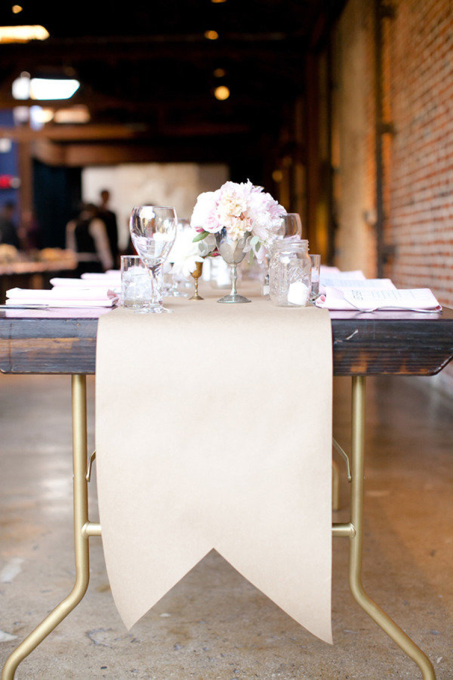 Kraft Paper Table Runners
