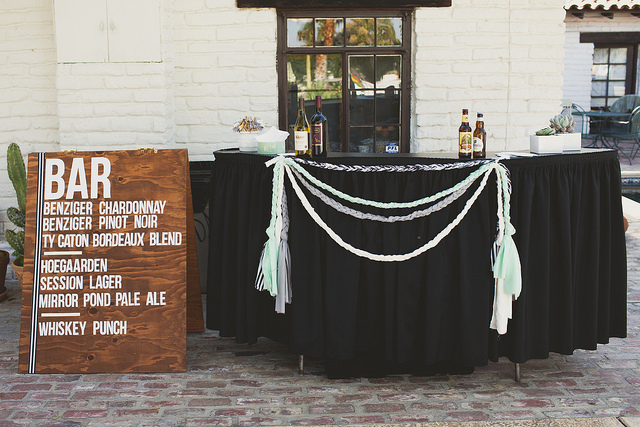 weddingbarsign